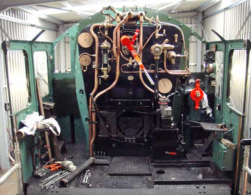 The cab fittings are virtually complete now and look fantastic. June 19 2004