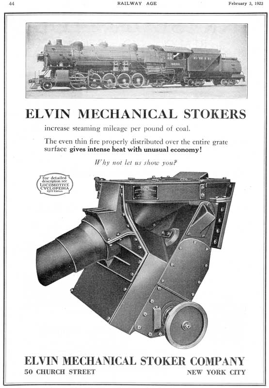 Elvin Stokers - 1923 Ad