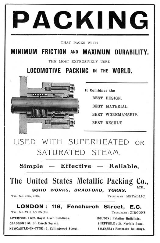 United States Metallic Packing Co.