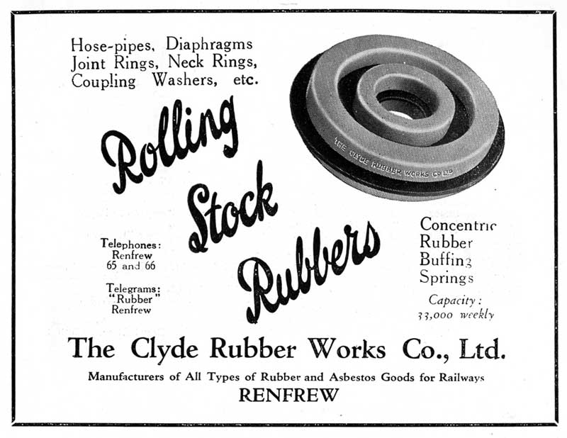 Rolling Stock Rubbers