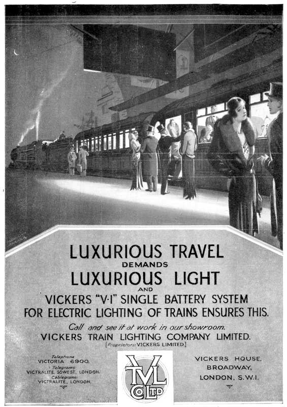 Vickers Train Lighting Company Limited