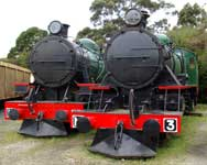 Saturday November 13 - At Don River Railway, Tasmania