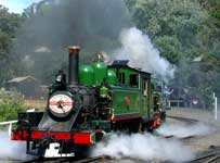 Monday November 14 - At Puffing Billy Railway, Victoria