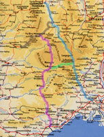 Click here for a 1950 map of Massif Central railways.