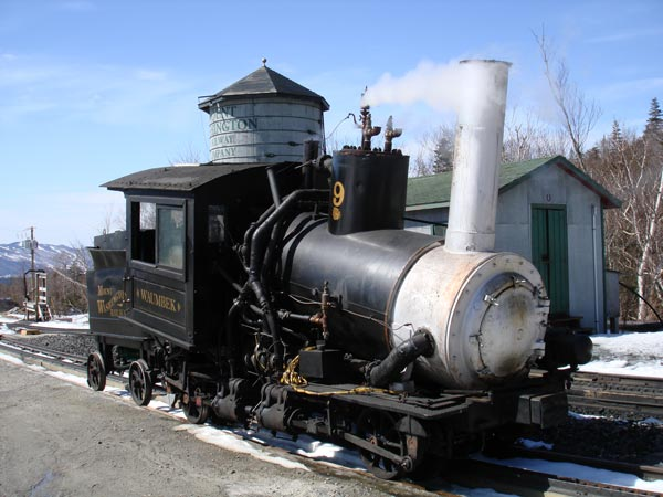 Mount Washington No.9 - The World's First Biodiesel Fired Locomotive