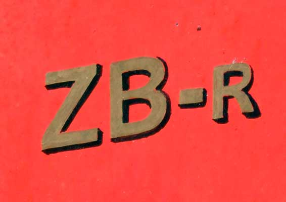 Builders Winson based these locomotives on the narrow gauge 'ZB' type found in India and Pakistan. No.6 is now a ZB-R, a ZB-Rebuilt. 28 June 2006