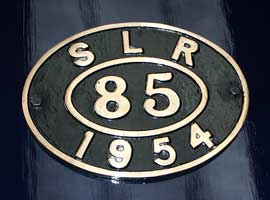 SLR 85, WLLR 14, the first loco redraughted