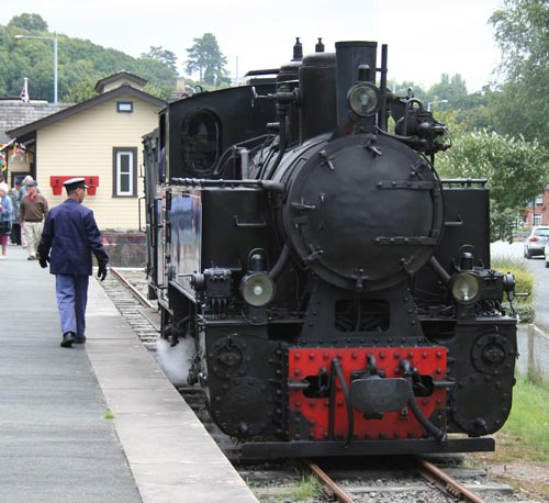W&LLR No.19 in between duties at Welshpool Raven Square prior to modification. September 2007. © N.A.H. Day