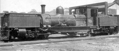 'NGG11' No 51, the first SAR 2ft Garratt and arguably the first Garratt in the country. A true Beyer-Garratt and showing some strong similarities to its Tasmanian forebear, it is seen here well-worn after years of service.© Ian Allan Library