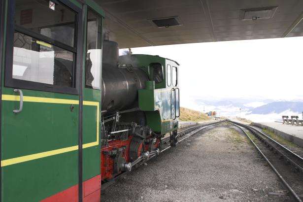 Z11 at the summit station on the Schafberg. 19 October 2007. © Brian Bane