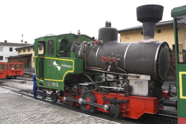Z11 of the Schafberg Bahn at St Wolfgang prior to ascending the mountatin. 19 October 2007. © Brian Bane