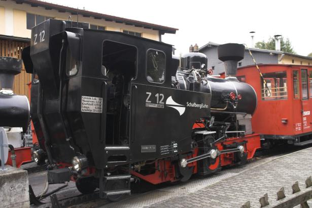 Z12 (originally 999.202) of the Schafberg Bahn, St Wolfgang, Austria. This loco was built in 1996. 19 October 2007. © Brian Bane