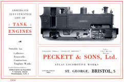 A short Peckett catalogue