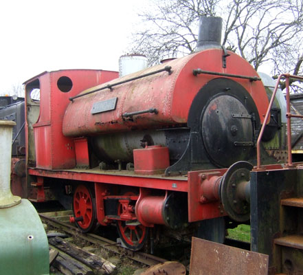 No.1257 is preserved at the Rutland Railway Museum, not a million miles from the town 'Uppingham'. 28 January 2007