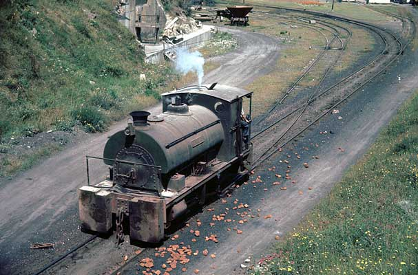 No.1734 of July 1927, 'Thurwit, in the Alpha Cement yard at Pufleet. 07 August 1963 © Geoff Plumb
