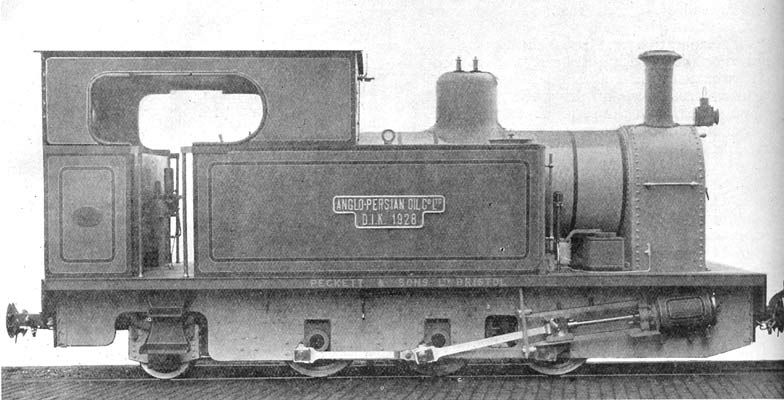 No.1750 of February 1928. Named 'D.I.K. 1928' this machine operated in Persia.