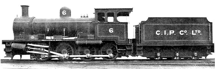 No.1824 of 1931. This standard gauge 0-8-0 was the largest locomotive ever produced by Peckett. it operated on Christmas Island hauling phosphate trains.