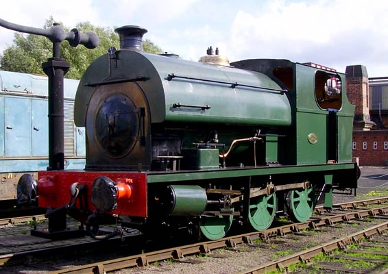 No.2000 of 1943. This outside cylinder 0-6-0st is now preserved at Barrow Hill Roundhouse Railway Centre. © Andy Booth