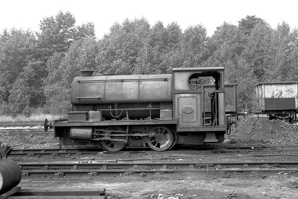 No.2104 of April 1951. This loco is seen at Croydon B power station. 18 August 1971 © Steve Price, courtesy of G.A.Cryer