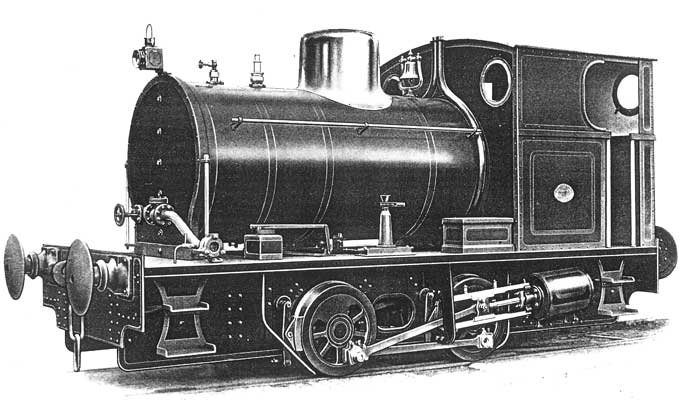 "No.2155 of March 1955. This loco is unique as the only fireless steam loco ever to emerge from Atlas Works. In service weight was 20t whilst the cylinders were 12""x14""."