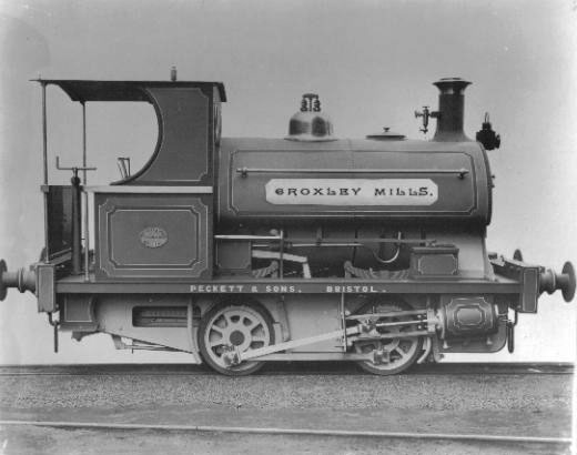 No.770 of 1899, named 'Croxley Mills'. It is thought to be a type M4. This loco, which worked for John Dickinson and Co. Ltd. in Hertfordshire, UK, is believed to have been scrapped in 1937. If you have any more details on this loco please contact me.