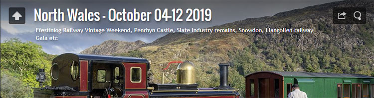 North Wales - October 04-12 2019