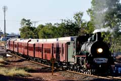 Q150 Train Townsville to Mt Isa